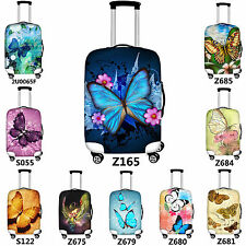 Butterfly Travel Luggage Covers Spandex Suitcase Protector Jacket 20/24/26/28""