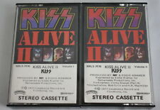 Kiss Alive II Volume 1 and 2 1985 Casablanca Records Cassette Set