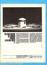 QUATTROR967-PUBBLICITA'/ADVERTISING-1967- AE PISTONE BORGO