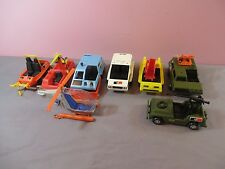 Matchbox Mobile Action Command MAC Rescue Military Oceana Vehicles Lot