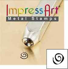 Metal stamp, punch, boogie swirl - 3 mm