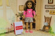 """American Girl / Truly Me -  """"Lovely Leopard Pajamas"""" - COMPLETE - NIB"""