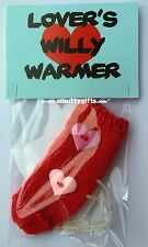 The Lovers Knitted Willy Warmer ~ Valentine's Day Adult Rude Novelty Gift