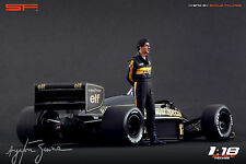 1/18 Ayrton Senna Lotus figure VERY RARE !!! for 1:18 Autoart Minichamps
