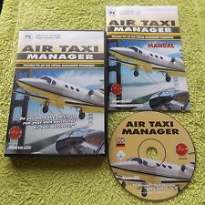 Aerotaxi Manager PC CD-ROM v.g.c. Post veloce (add-on per simulatore di volo 2004)