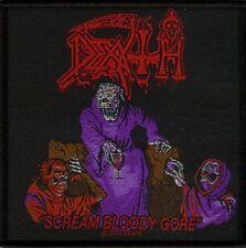 Death Scream bloody Gore UK Parche/parche 601678 #