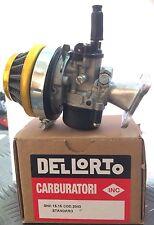 Carburatore Dellorto 2043 15.15 SHA +Filtro+Collettore Mini Moto Mini Cross Quad