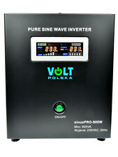 Off Grid Pure Sine Wave Inverter Charger Sinus Pro 800W 12V /240V  10A  AVR UPS
