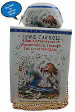 Novelty Alice in wonderland book shaped new lady's handbag / Shoulder bag