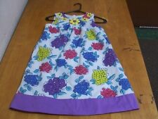 Mini Boden Darling Floral Dress with Gemstone Accents-Sz. 9-10Yrs