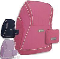 Girls Backpack Black Pink Lilac Blue Hi-Tec School Bag Gym Hand Luggage