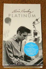 ELVIS PRESLEY PLATINUM A LIFE IN MUSIC 4 CASSETTE BOX SET