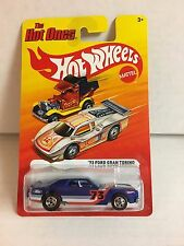 '73 Ford Gran Torino * Blue * Hot Wheels The Hot Ones * H80