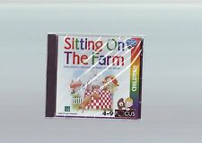 SITTING ON THE FARM - EDUCATIONAL ADVENTURE PC GAME - FAST POST - NEW & SEALED