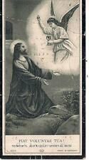 1930 Death Funeral Mourning Catholic? Prayer Card For Maria Lefante