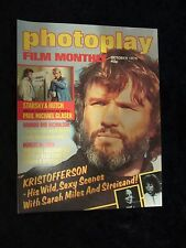 KRIS KRISTOFFERSON cover and feature, STARSKY AND HUTCH Photoplay magazine