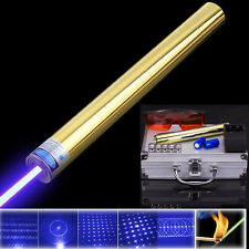 High Power Blue Laser Pointer Powerful Blue Burning Laser Lit Cigarette Wood