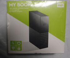 NEW WD My Book Western Digital 4TB External HD, Newest Version, Factory Sealed