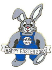 Hard Rock Cafe TOKYO 2000 EASTER PIN - BUNNY RABBIT in Blue - HRC Catalog #10126