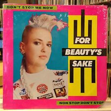"""[EDM]~SEALED 12""""~FOR BEAUTY'S SAKE~Non Stop Don't Stop~Don't Stop Me Now~{1987]"""