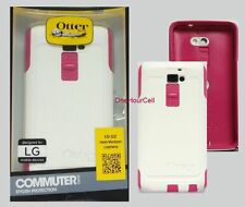 OtterBox Commuter Series Case for LG G2, Papaya (White/Pink) 77-33942