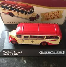 Atlas Editions - Wallace Arnold Bedford OB Bus - 1:76 Scale
