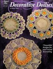Decorative Doilies 7 Crochet PATTERNS Lacy Floral Table Toppers Annie's Attic