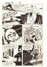 Voltron #2 p.5 - Lance in Robot Lion - 1st Series 1985 art by Chuck Wojtkiewicz