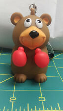 New Alaska Keychain - Boxing Bear with Alaska on rear - squeeze and it punches