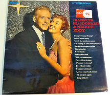 """Jeanette MacDonald & Nelson Eddy 1970 12"""" vinyl LP incl Will You Remember?"""