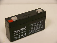Portalac GS PE6V1.2 Emergency Light Battery True High Rate PowerStar Battery
