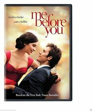 NEW - ME BEFORE YOU  (DVD 2016) BRAND NEW SEALED SHIPPING NOW !