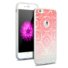 Pattern Rubber Soft Silicone Phone Back Case Cover for Apple iPhone 5 6 6s Plus