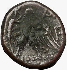 PERSEUS Macedonian King 179BC  Genuine Ancient Greek Coin EAGLE RARE i43376