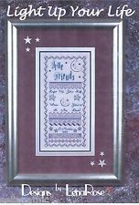 Friends Light Up Your Life Cross Stitch Pattern Lena Rose 2002