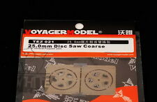 Voyager Model 25.0mm Disc Saw Coarse TEZ021*