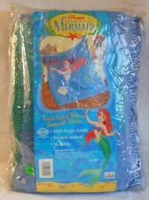 1990s Disney Ariel The Little Mermaid Triple Layer Woven Jacquard Throw Blanket