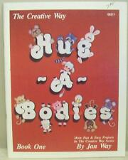 The Creative Way Hug A Bodies Jan Way Pattern Painting Book Folk Art Primitive