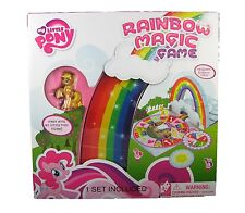 My Little Pony Rainbow Magic Game W/ Four Ponies Figures and Player Board NIB