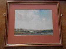 Signed Yorkshire Dales Landscape Scene 10 Vintage Original Watercolour SLADE 76