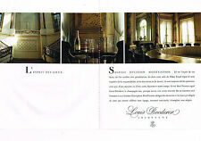 PUBLICITE ADVERTISING 014   1989   LOUIS ROEDER  champagne  ( 2 pages)