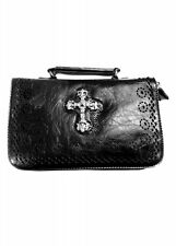 Banned Alternative Apparel UK Gothic Cross Body Handbag Clutch Purse