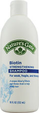 Biotin Strengthening Shampoo, Nature's Gate, 18 oz