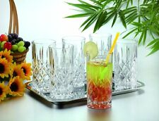 Texas Elements PAVIA Highball 6pc HIGHBALL GLASS SET - Imported