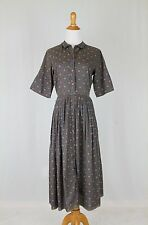 Vintage 1950s Shirtwaist Dress by Countrywise Macshores Classics + Petticoat S