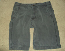 AMERICAN EAGLE MEN'S SHORTS SZ 33 DISTRESSED LONGBOARD FADED BLUE INSM 10.5