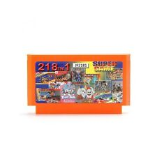 218 in 1 8 Bit Game Cartridge Jackal Saint Kage with Real Yellow Card for NES Ni