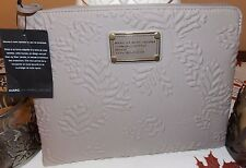 Marc Jacobs iPad 3, 4 Tablet Sculpted Neoprene Case in Gravel Grey, NWT