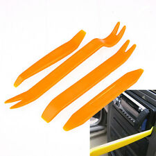 4pcs Car Radio Door Body Clip Panel Trim Dash Audio Plastic Removal Pry Tool Kit