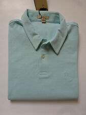 "NWT Burberry Brit ""Cosway"" Piqué Polo (Pearl Blue;  Size  L) US$175"